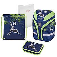 Ранец школьный укомплектованный Herlitz MOTION PLUS Kick It Футбол (50020379), фото 1