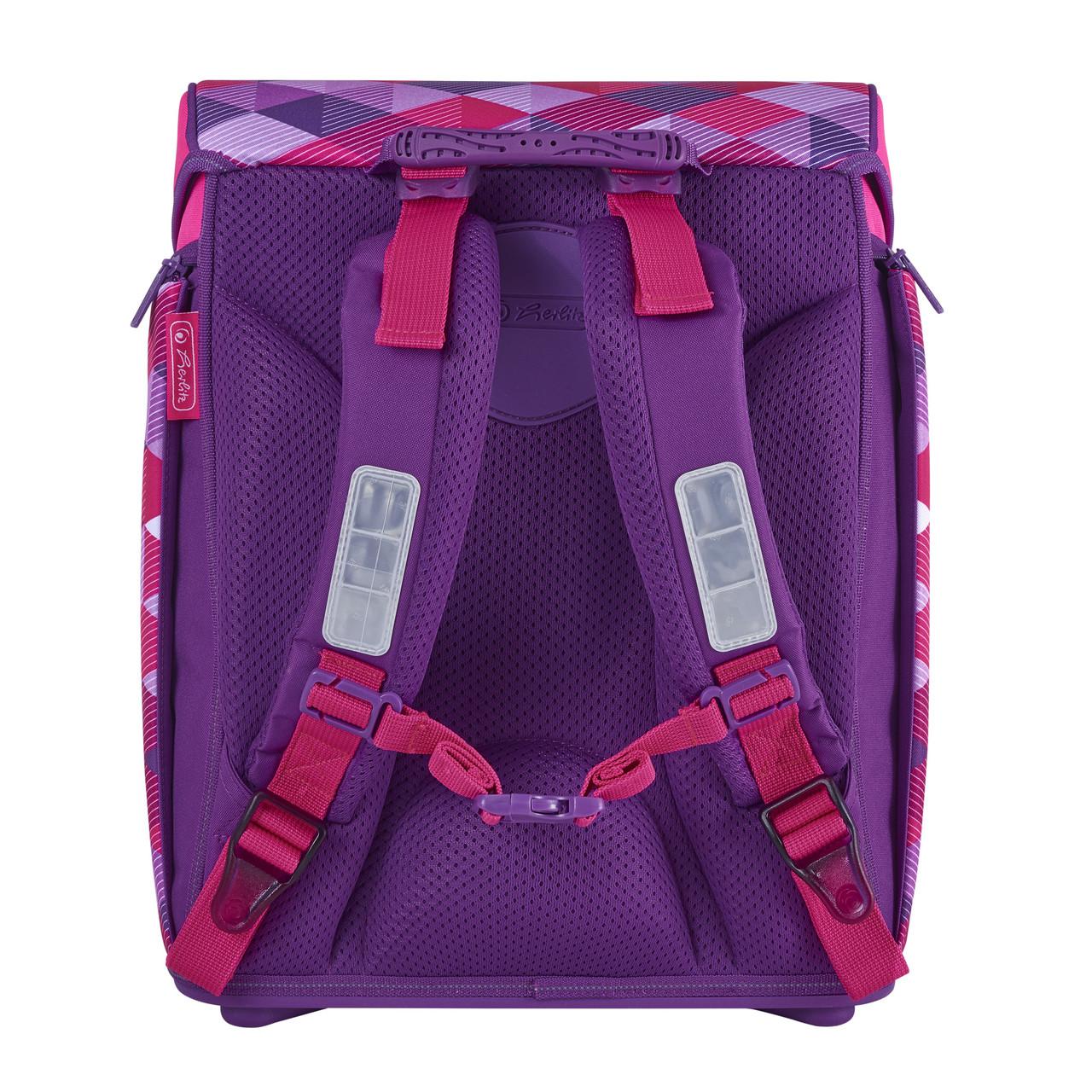 6fa881800fcd ... Ранец школьный укомплектованный Herlitz MIDI PLUS Cubes Pink Кубики  розовые (50022083), ...