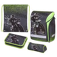 Ранец школьный укомплектованный Herlitz MIDI PLUS Motocross (50020423), фото 1