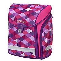 Ранец школьный Herlitz MIDI Cubes Pink Кубики розовые (50022090), фото 1