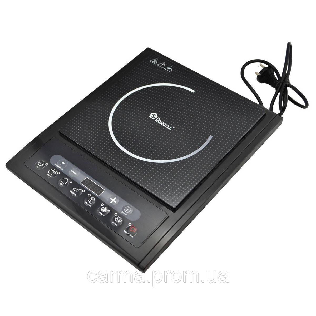 Индукционная настольная электроплита DOMOTEC MS-5831 2000 Вт