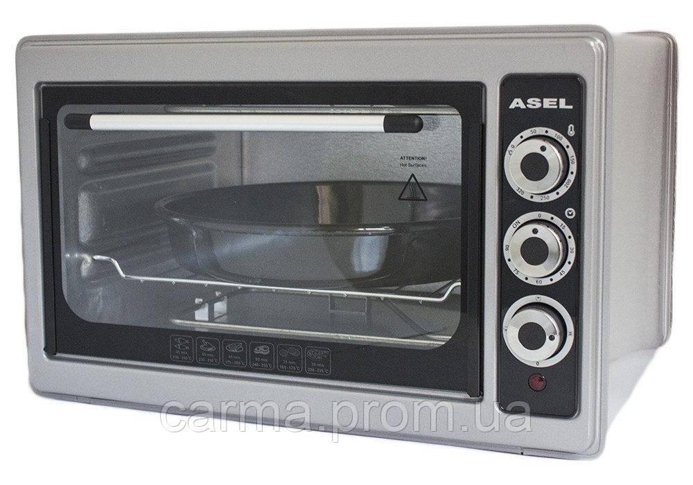 Электрическая духовка ASEL AF-0023 серая