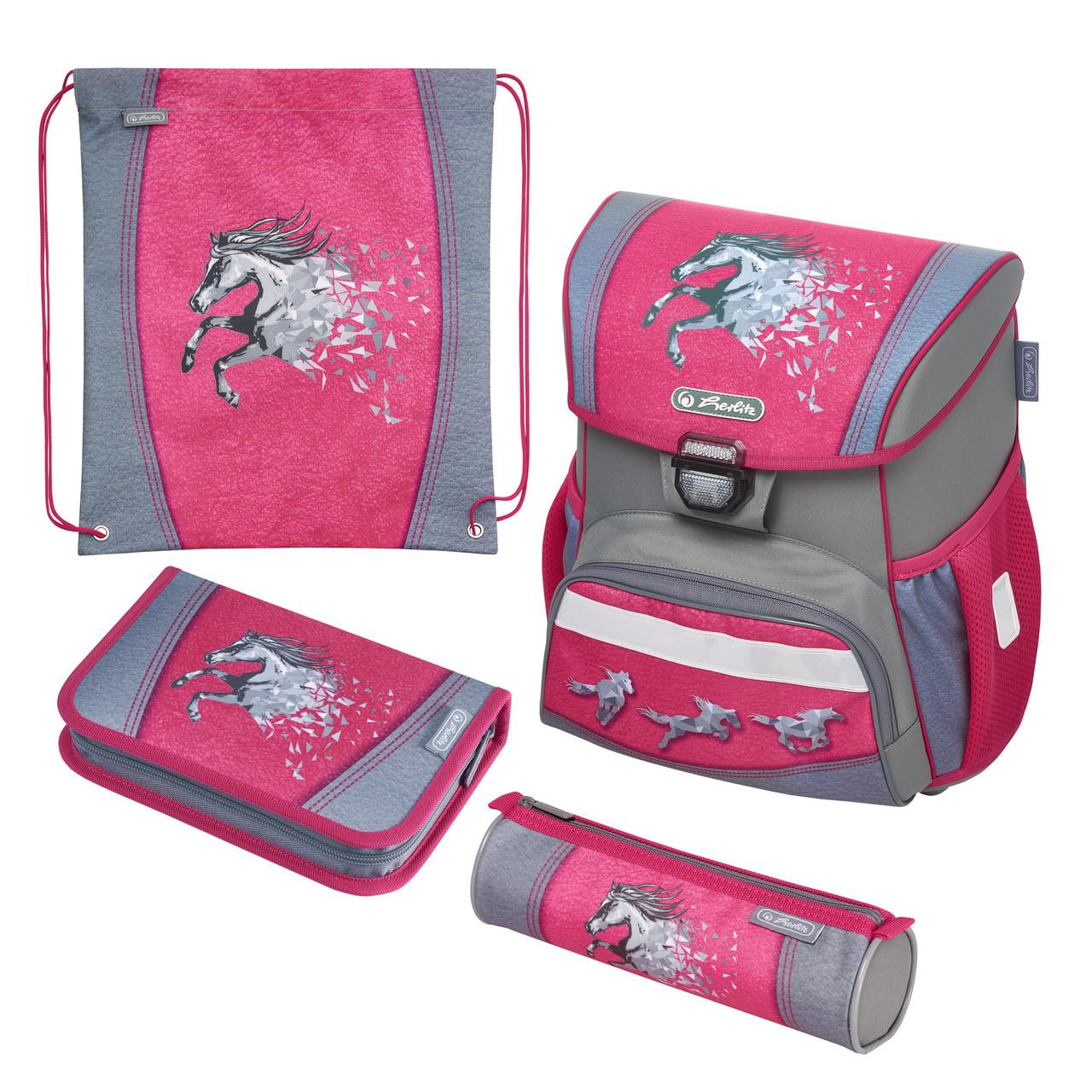 Ранец школьный укомплектованный Herlitz LOOP PLUS Magic Horse Лошадка (50020508)