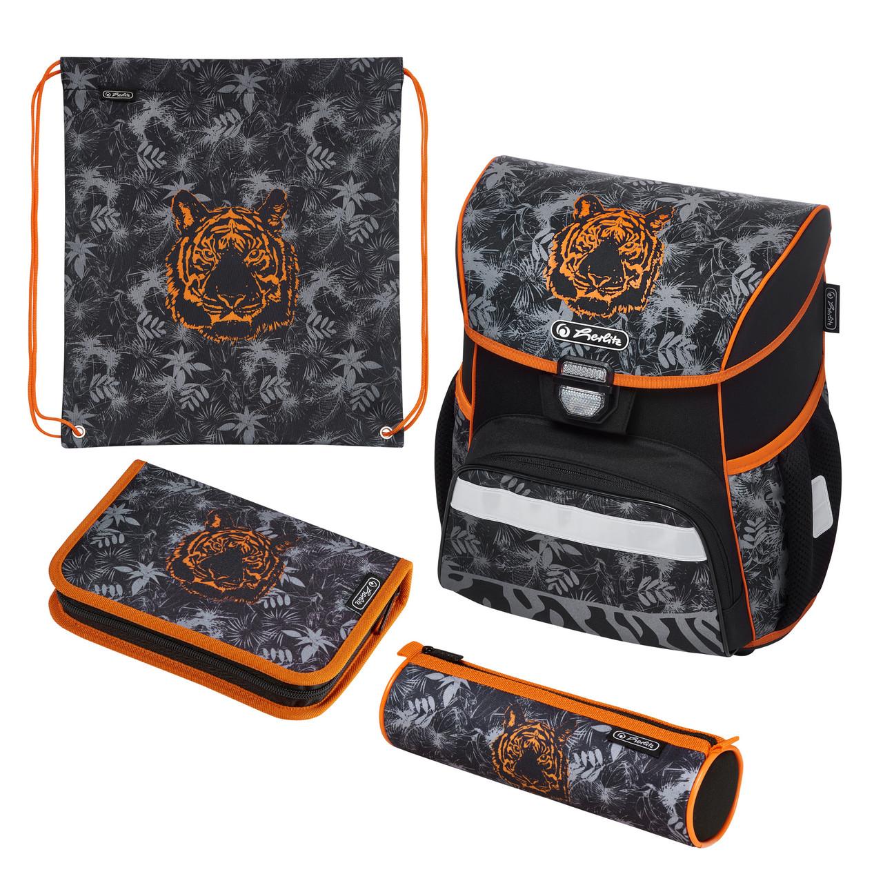 Ранец школьный укомплектованный Herlitz LOOP PLUS Tiger Тигр (50020553)