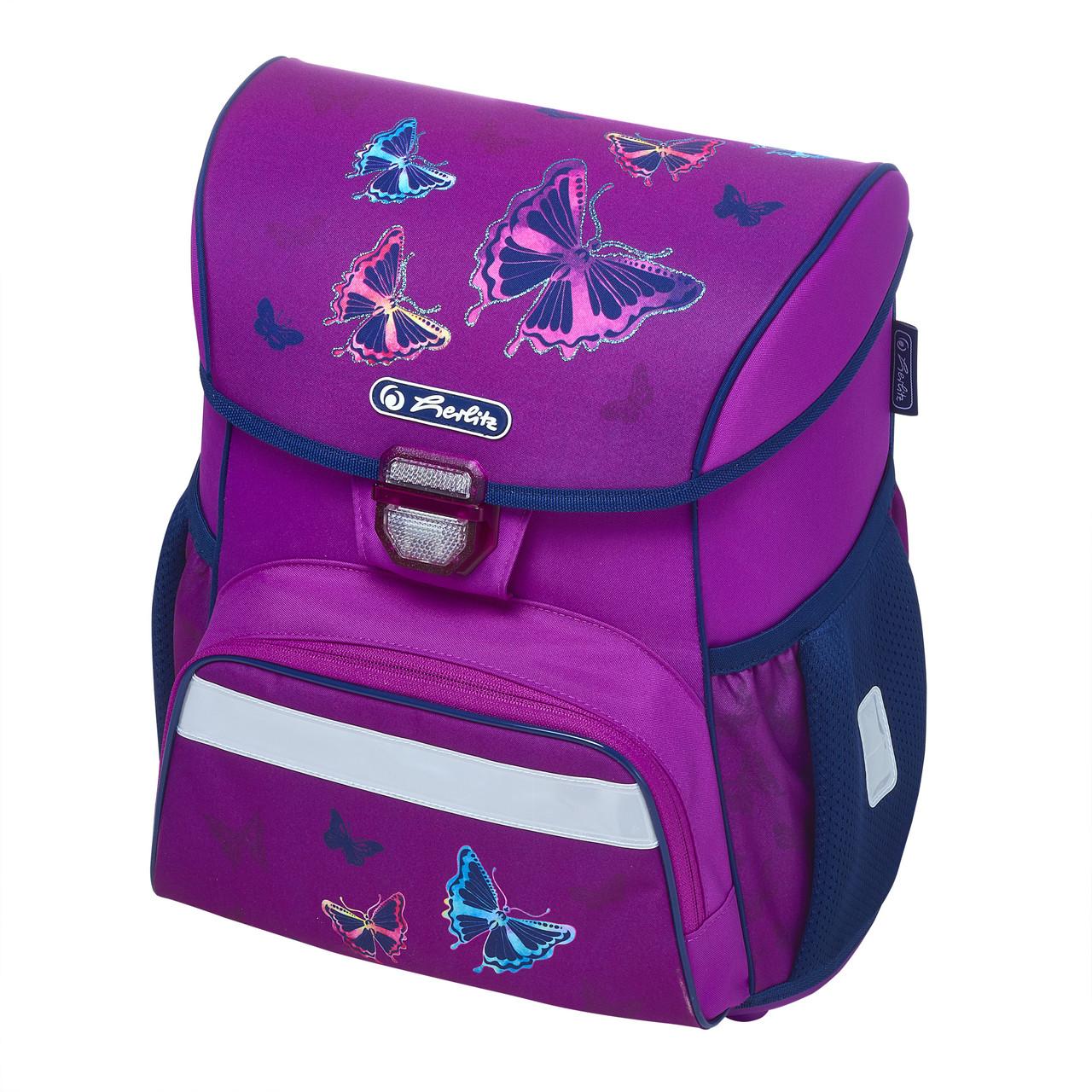 Ранец школьный Herlitz LOOP Butterfly Glitter Бабочки (50020584)