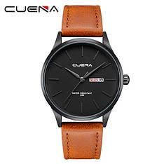 Чоловічі стильні водонепроникні годинники CUENA 6646 P02