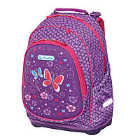 Рюкзак школьный Herlitz BLISS Purple Butterfly Бабочки (50013982)