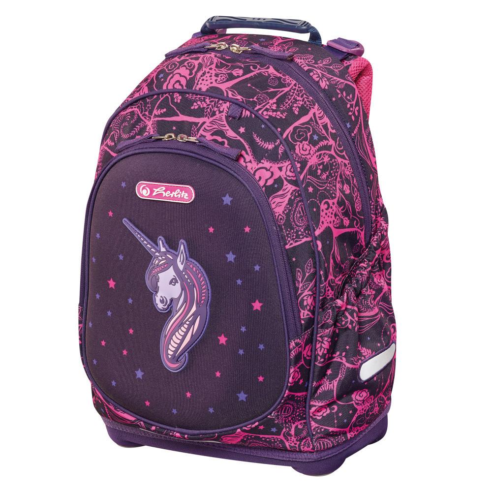 Рюкзак школьный Herlitz BLISS Unicorn Night Единорог (50013999)