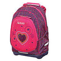 Рюкзак школьный Herlitz BLISS Pink Hearts Сердце (50014002), фото 1