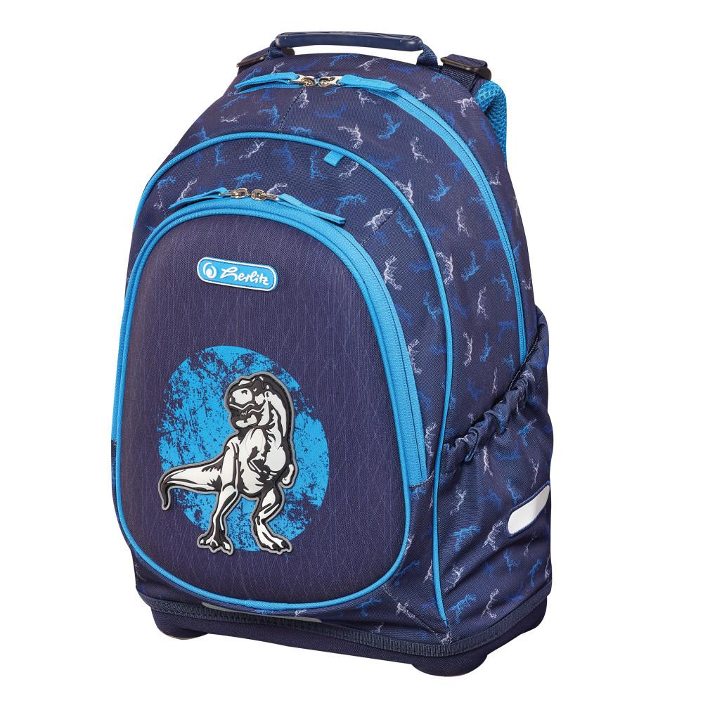 Рюкзак школьный Herlitz BLISS Dino Blue Динозавр (50014019)