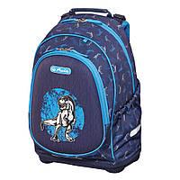 Рюкзак школьный Herlitz BLISS Dino Blue Динозавр (50014019), фото 1