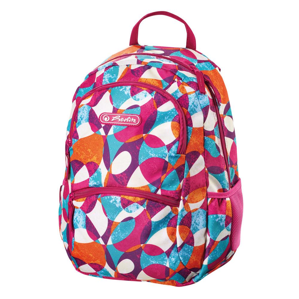 Рюкзак школьный Herlitz ZIPPER Geometric (50011469)