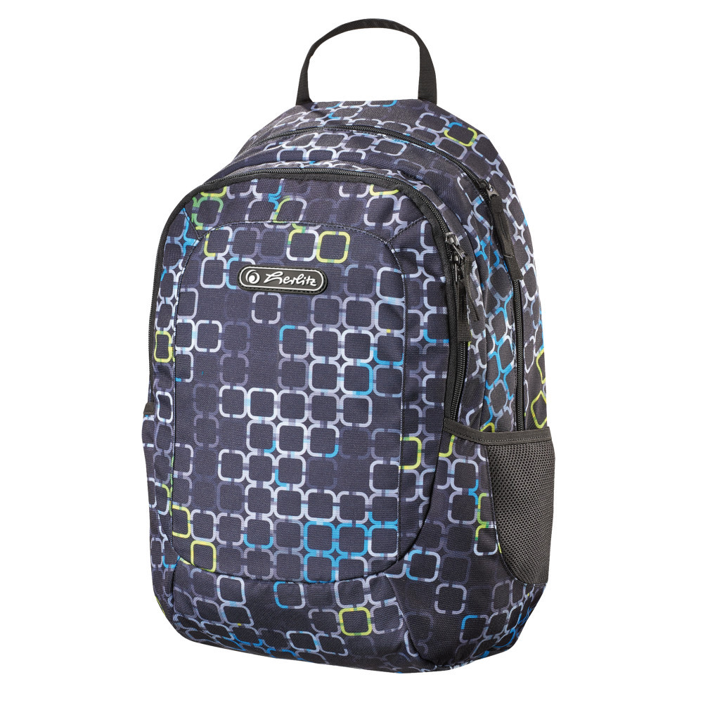 Рюкзак школьный Herlitz TEENS Squares (50011544)