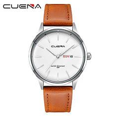 Чоловічі стильні водонепроникні годинники CUENA 6646 P03
