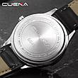 Чоловічі стильні водонепроникні годинники CUENA 6646 P03, фото 6