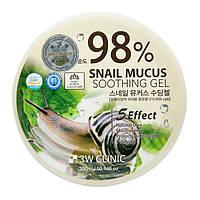 Увлажняющий улиточный гель Mucus Snail Soothing Gel 3W Clinic, фото 1