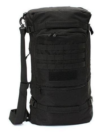 Сумка-рюкзак тактическая городская на 50л TacticBag Черная