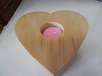 Подсвечник в форме сердца, фото 1
