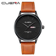 Мужские стильные водонепроницаемые часы CUENA 6646 P04, фото 3
