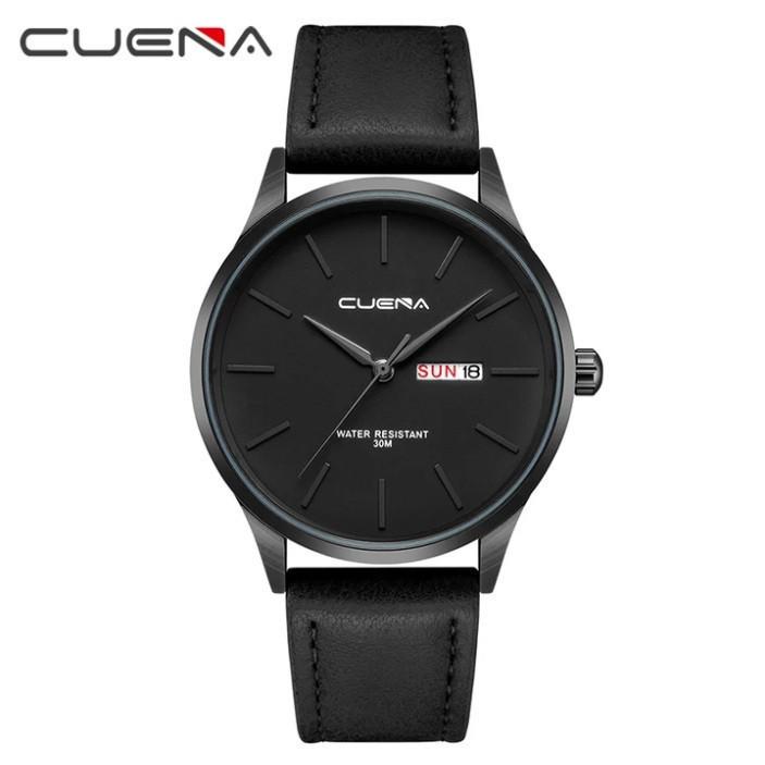 Мужские стильные водонепроницаемые часы CUENA 6646 P04