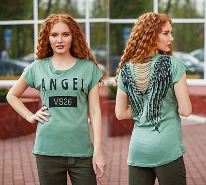 """Женская летняя футболка 93-1 """"ANGEL"""""""