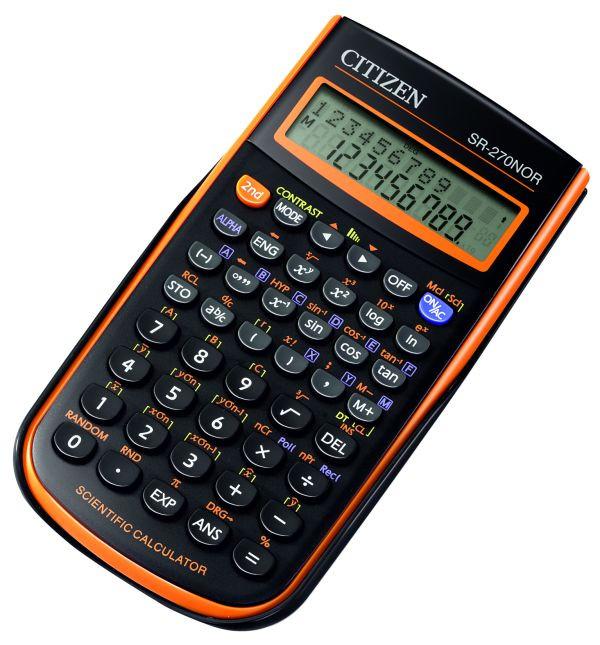 Калькулятор Citizen SR-270NOR  научный, 236 формул
