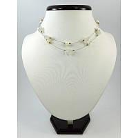 """Эксклюзивное ожерелье-воздушка """"Моя любовь 4"""", Изысканное ожерелье из натурального камня, нежное ожерелье"""