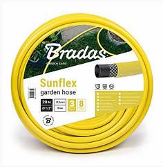 Поливочный шланг SUNFLEX  1/2- 20м Bradas
