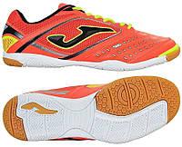 b0dcf1c1e Оригинальная обувь для футзала Joma dribling 508 orange-fluor indoor