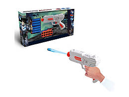"""Пистолет игрушечный  """"SPACE"""", стреяет мягкими патронами"""