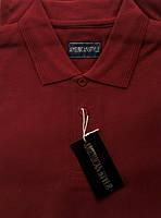 Мужская футболка (тенниска) ПОЛО American Style Бордовая