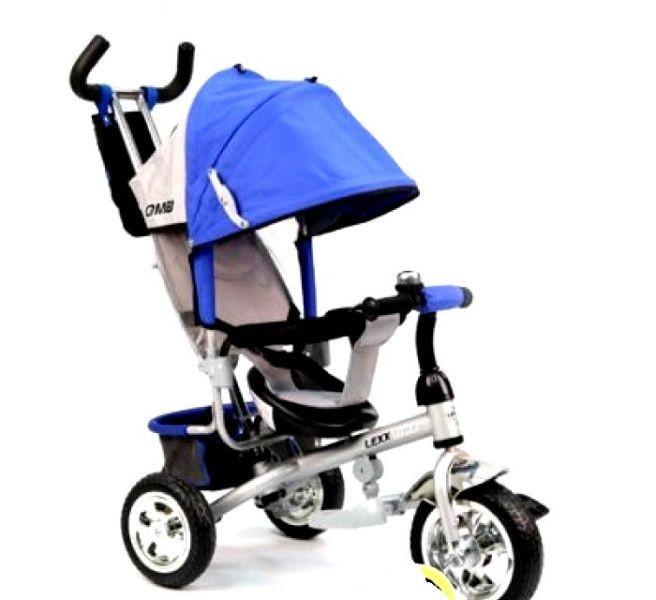 Трехколесный велосипед Lexx Trike QAT-017 синий