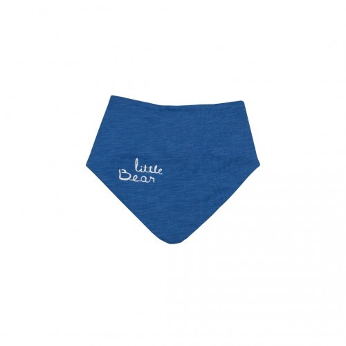 Нагрудник-бандана Верес Little Bear blue кулир синий