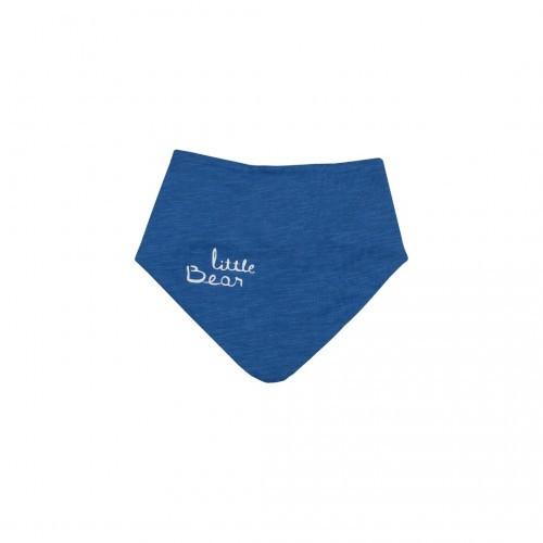 Нагрудник-бандана Верес Little Bear blue кулир синий, фото 1