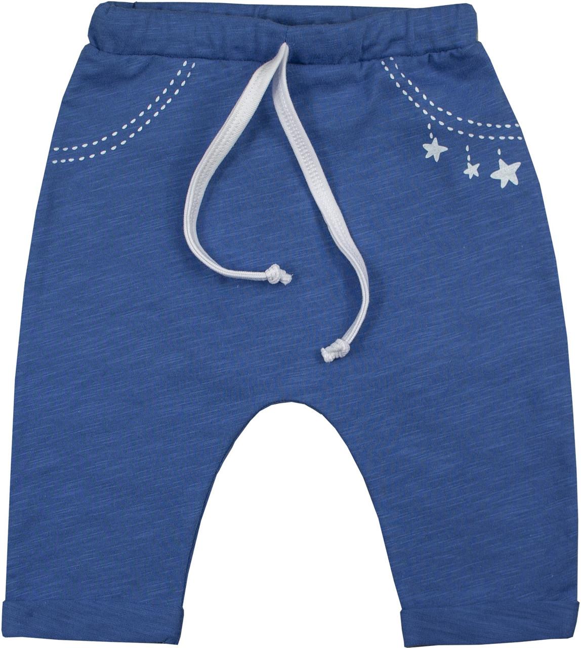 Штанишки Верес  Little Bear blue кулир 62 синий