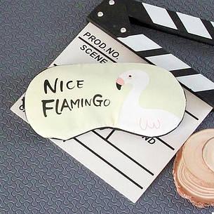 Маска для сну з гелем всередині Nice Flamingo (123754), фото 2