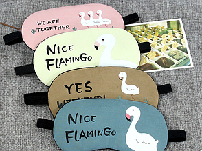 Маска для сну з гелем всередині Nice Flamingo (123754), фото 3