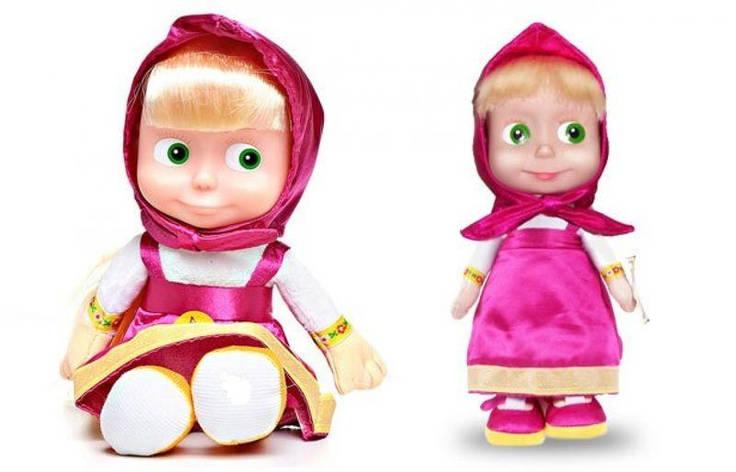 Лялька Маша Повторюшка (фіолетова) (124040), фото 2
