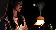 Міні зволожувач нічник humidifier Гриб Lith (123932), фото 3