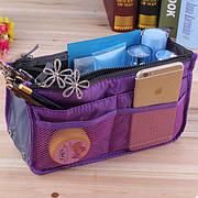 Многофункциональный Органайзер в сумку Bag in Bag (Фиолетовый) (123528)