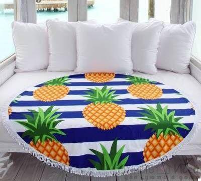 Пляжный коврик Ананас (123744)