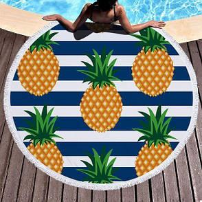 Пляжный коврик Ананас (123744), фото 2