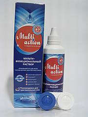 Раствор для контактных линз Multi Action 100 ml