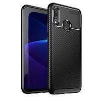Чехол Carbon Case Huawei Nova 3 Черный