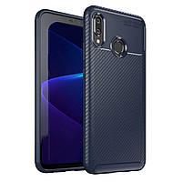 Чехол Carbon Case Huawei Nova 3 Синий