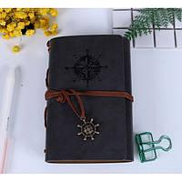 Винтажный блокнот в морском стиле. Серый, Подарочные блокноты, Вантажний блокнот в морському стилі. сірий