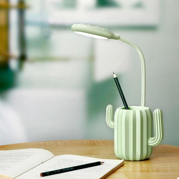 Настольная лампа Кактус Green (123939)