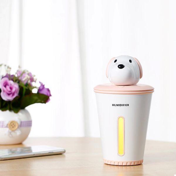 Міні зволожувач повітря humidifier Puppy Pink (123924)