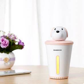 Міні зволожувач повітря humidifier Puppy Pink (123924), фото 2