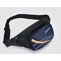 Сумка на пояс для спорта и отдыха. Синий, Поясные сумки, Сумка на пояс для спорту і відпочинку. синій